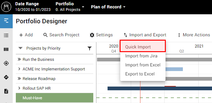 PfD_Quick-Import_dropdown.png